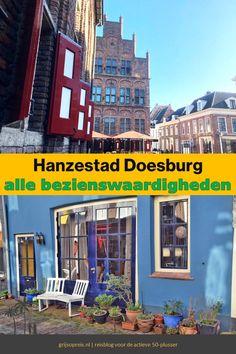 Hanzestad Doesburg ligt prachtig aan de oevers van de IJssel. Dit zijn de leukste bezienswaardigheden van dit pittoreske stadje. Dutch, Times Square, Travel, Viajes, Dutch Language, Destinations, Traveling, Trips