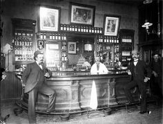 Chico saloon, circa 1890 My protagonist will work in saloons in St. Louis and Denver at the turn of the century.