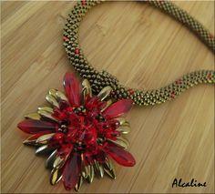 Jacky rouge et bronze
