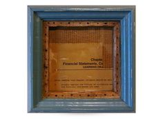 Frame No.54 -Blue × Stain-