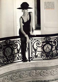 Christy Turlington by Steven Meisel for Vogue Italia September 1991