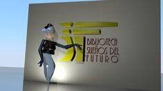 """""""La Bibliotecaria de los Sueños"""" es un personaje que propuse como mascota para la iniciativa colectiva llamada """"Biblioteca Sueños del Futuro"""", idea del entusiasta Vladimir Vásquez."""
