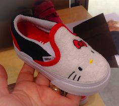 Hello Kitty Vans....Love these!!! :)