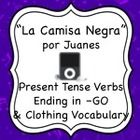 "This activity goes along with the song ""La Camisa Negra"" by Juanes which is readily available on YouTube and iTunes. They will listen to the song a..."