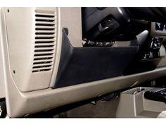 Driver Side Under Dash Storage