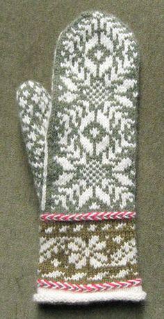 Reykjavik pattern by Carol Sunday Beautiful Reykjavic by Carol Sunda Knitted Mittens Pattern, Crochet Mittens, Fingerless Mittens, Knitted Gloves, Knit Or Crochet, Knitting Designs, Knitting Projects, Knitting Patterns, Fair Isle Knitting