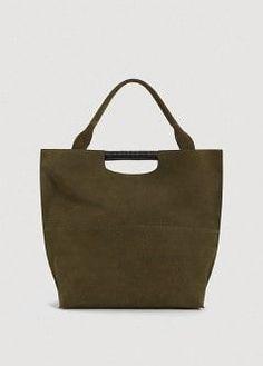 Skórzana torebka z uchwytem