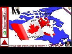LO QUE DEBE SABER ANTES DE EMIGRAR A CANADÁ( FUNNYMTL)