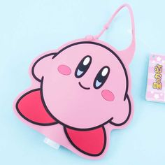 Kirby Hand Gel With Case - Blippo Kawaii Shop Kawaii Accessories, Kawaii Shop, Welcome Gifts, Hanging Out, Balloons, Card Holder, Super Cute, Pouch, Things To Come