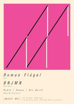 Roman Fluegel, BJMN  Make Me - London. 9 Nov 2012 Rush Hour, Flyers, Roman, Letters, London, How To Make, Image, Ruffles, Letter