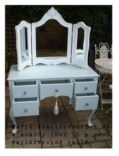 how to paint furniture shabby chic
