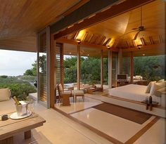 Stunning luxury interior design ideas from modern boutique hotels. Lobby, bedroom, stairways and entryways, a room by room guide to finding inspiration with the best interior architecture from world renowned hotels. Luxury Beach Resorts, Hotels And Resorts, Top Hotels, Casa Hotel, Resort Villa, Tropical Houses, Tropical Paradise, My Dream Home, Interior And Exterior