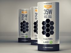 Light Bulb #Packaging #graphicdesign
