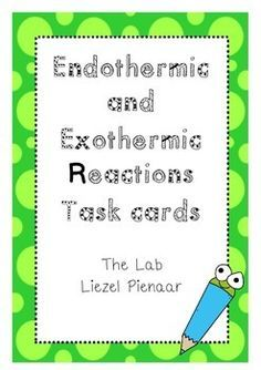 Task card / circus activity to recap endo- and exothermic reactions. Includes mini lab activities, graphing, etc.Great as a revision lesson! Check out my Station Signs Freebie that would work great with this product! Circus Activities, Literacy Activities, Middle School Science, Science For Kids, Exothermic Reaction, Sixth Grade Science, Special Educational Needs, Primary School Teacher, Science Standards