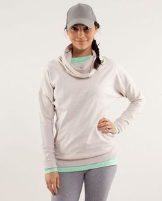 The Rest Day Pullover from lululemon is the perfect complement to our mint FitSeries headphones. #Fit4Life