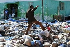 Haiti Sorting Dead Bodies   Our Mission Programs: