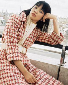— fretongaa: SPUR 2017年7月号 Japanese Beauty, Japanese Girl, Japanese Style, Nana Komatsu Fashion, Komatsu Nana, Zombie Girl, Japanese Models, Female Poses, Street Style