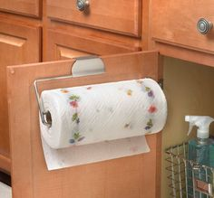 Over the Door Paper Towel Holder