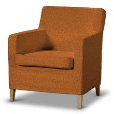 Dekoria Pokrowiec na fotel Karlstad w kolekcji Living