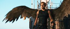 """Caine from """"Jupiter Ascending"""" (played by Channing Tatum)... the wings, yes"""