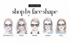 554718fbdc3 How To Find The Sunglasses Style That Suit Your Face Shape
