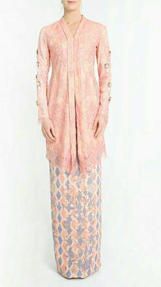 Kebaya Hijab, Kebaya Dress, Kebaya Muslim, Muslim Dress, Kebaya Brokat, Modest Fashion, Hijab Fashion, Fashion Dresses, Traditional Fashion