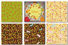 Autumn set of patterns #6 by Orangepencil on @creativemarket