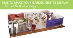 Shopfitting Warehouse feature a range of retail display equipment for you to browse through online. Garden Center Displays, Shop Fittings, Busy At Work, Storage Spaces, Centre, Photo Wall, Action, Indoor, Make It Yourself