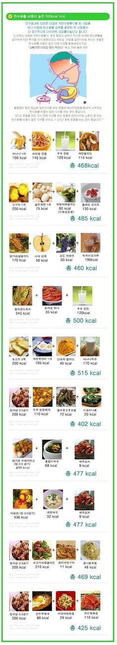 500kcal 다이어트 식단 모음