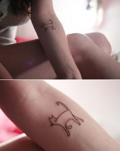 Kitty tattoo!