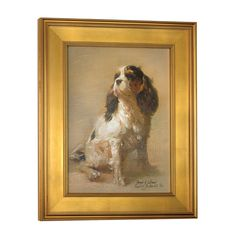 Framed Canvas Giclee Prints From Joseph Sulkowski A Premiere Dog And Sporting Artist Who Paints In A Century Tradition With Light And Luminous Dog Home Decor, Luxury Home Decor, Scully And Scully, Wall Decor Design, Dog Paintings, Miniature Paintings, Canvas Home, King Charles Spaniel, Dog Art