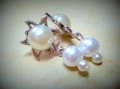 Elegant Pearl Earring boho jewelry by Arielior on Etsy, $12.00