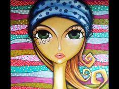 Risultati immagini per romina lerda Kunstjournal Inspiration, Art Journal Inspiration, Art Pop, Arte Black, Arte Sketchbook, Arte Popular, Eye Art, Whimsical Art, Art Plastique