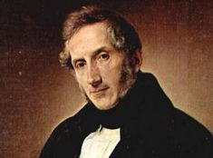 Alessandro Manzoni (1785-1873), the Italian novelist, whose masterpiece, I Promessi Sposi (The Betrothed), began the tradition of what can be called the 'Catholic novel.'