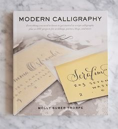 Modern Calligraphy - a great resource for developing your own script writing style