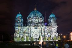 Berliner Dom /// Berlin Cathedral Church @ Berlin FESTIVAL OF LIGHTS 2012. Presented by Oesterreich Werbung. (c) Festival of Lights / Christian Kruppa #Berlin #FestivalofLights #BerlinerDom #BerlinCathedralChurch