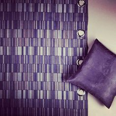 DELTA Curtain. Available in matching pillow.