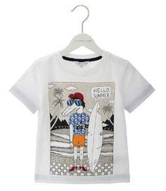 Little Marc Jacobs Hello Summer T-Shirt