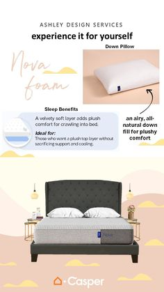 Casper has revolutionized the way we view mattresses, and our priority is always providing you with bedroom styles that transform your space and bring you comfort. Check out our assortment of Casper mattresses and discover your best night's sleep. Casper Mattress, Soft Layers, Mattresses, Bedroom Styles, Beautiful Bedrooms, Down Pillows, Good Night Sleep, Your Space, Home Furnishings