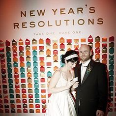 What's more romantic than ringing in the New Year as newlyweds? Here are our favorite New Year's Eve-themed wedding ideas.