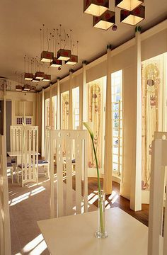 Music Room, contemporary build from Charles Rennie Mackintosh's plans for a House for an Art Lover, Glasgow