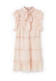 Платье Mango - RUFFLY купить за 2 999 руб MA002EWLKD88 в интернет-магазине Lamoda.ru