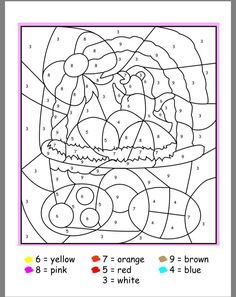 Free French Coloring Pages for Easter these colorby