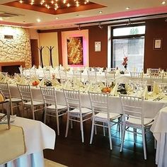 The Grove Restaurant Restaurant, Table Decorations, Furniture, Home Decor, Homemade Home Decor, Diner Restaurant, Restaurants, Home Furnishings, Decoration Home