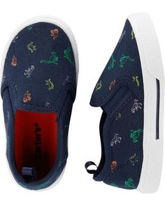 e1137532d Carter's : Carter's Dinosaur Casual Sneakers