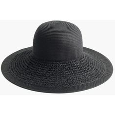 J.Crew Textured Summer Straw Hat (3,050 INR) ❤ liked on Polyvore featuring accessories, hats, straw hat, summer hats, wide brim straw hat, summer straw hats and j crew hat
