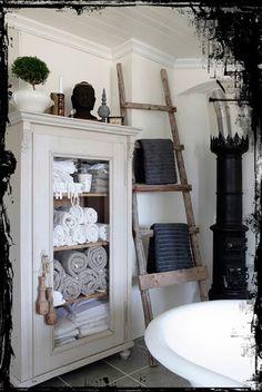 Glass Cabinet for Bathroom Storage