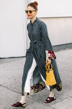 NYFW SS18 Street Style IV | Collage Vintage