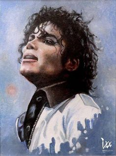 Art with Soul - Colors - The King of Pop, Rock and Soul! Michael Jackson by Max Popov