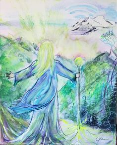 Adama of Telos Universal Healing through the Tree Root Network! From Shasta to Sooke Painting by Carrie Kohan 2018 Tree Roots, Carrie, Healing, Night, Artwork, Painting, Work Of Art, Auguste Rodin Artwork, Painting Art